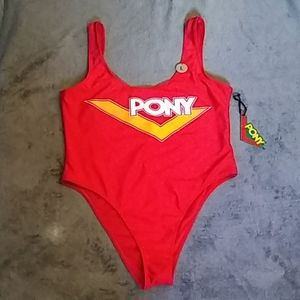 Pony forever 21 red swimsuit